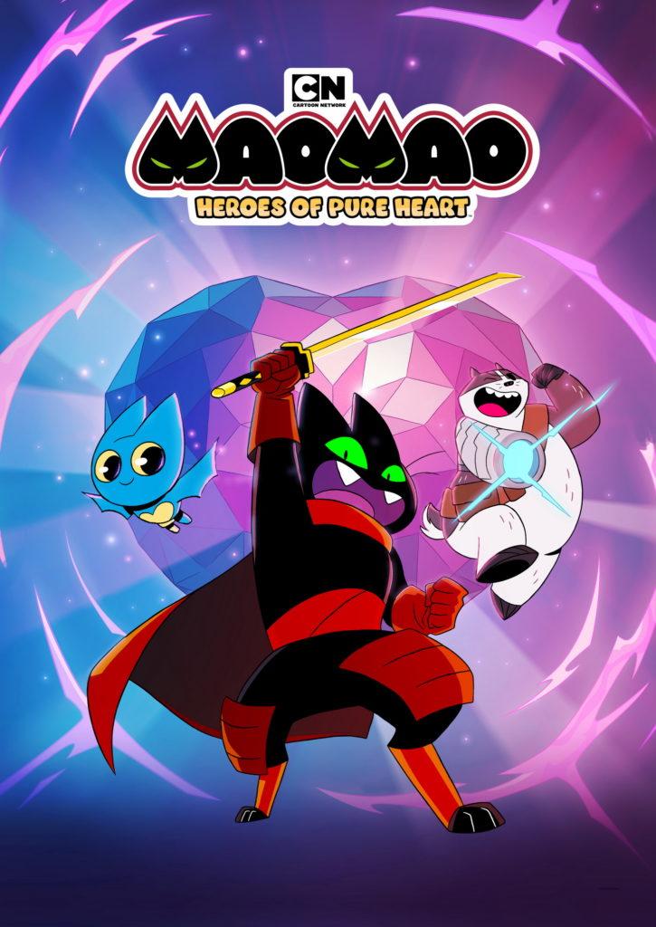 Cartoon Network introduceert legendarisch nieuw trio in Mao Mao: Heroes of Pure Heart!
