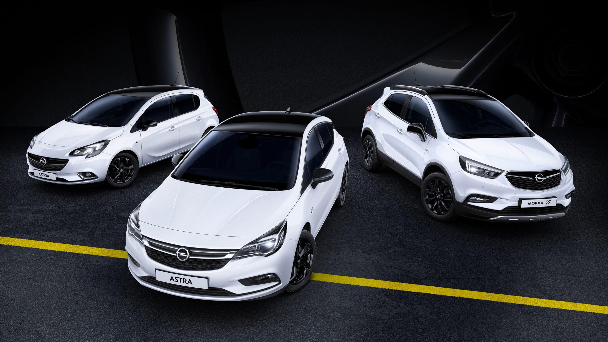 Black is Beautiful: Opel-modellen met een aparte stijl