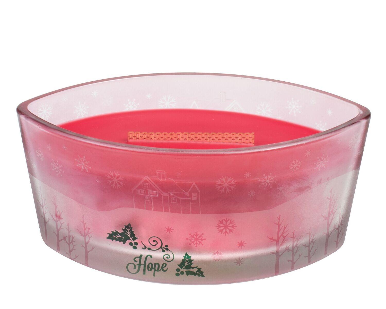 Knisperende kaarsen voor Kerst